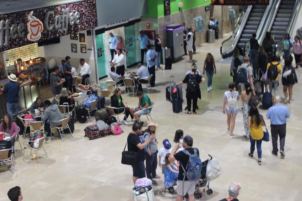 Van más de 2 millones 600 mil  pasajeros en el Aeropuerto de PV