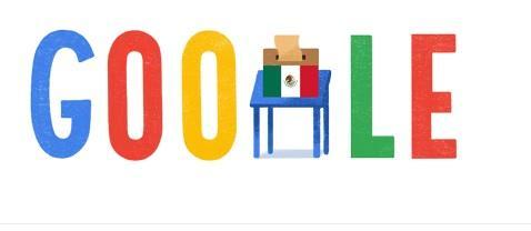 Google dedica su 'doodle' a las elecciones en México