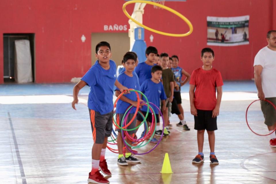 Organizado por el Gobierno Municipal   Un éxito el curso de verano para niñas y niños de Bahía