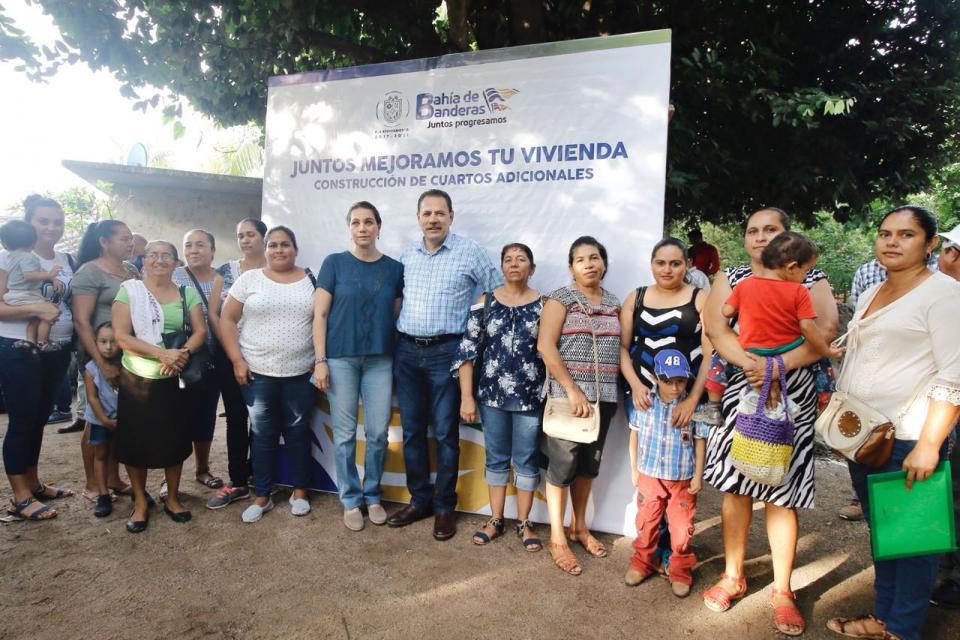 Inicia Jaime Cuevas programa de mejoramiento de viviendas