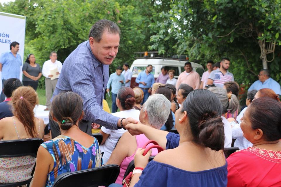 Resuelve Jaime Cuevas problema histórico de drenaje y salud en Mezcalitos