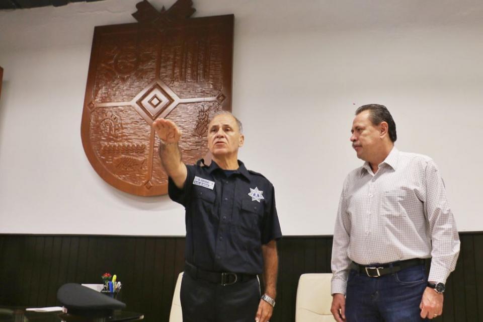 Toman Protesta Sergio Dávila como Director de Seguridad Pública en BB