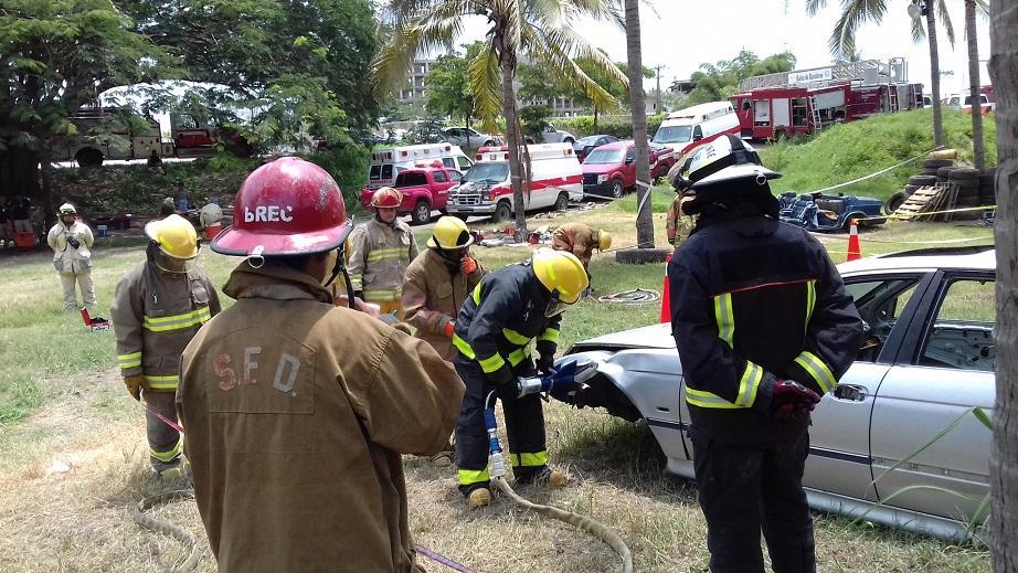 Accidente contra ambulancia, es falta de cultura vial en conductores