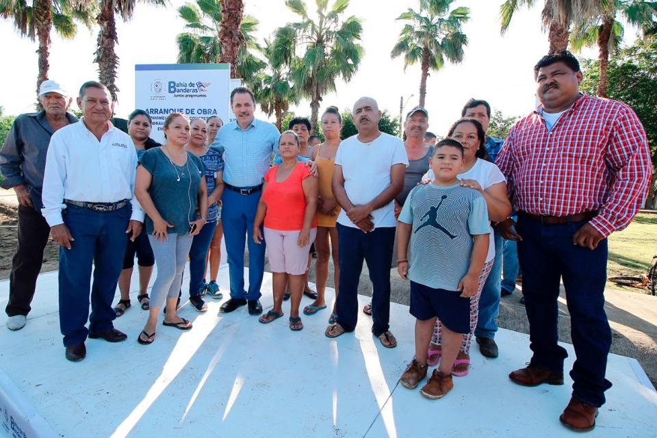 Arranca Jaime Cuevas obras viales con inversión de 10 MDP