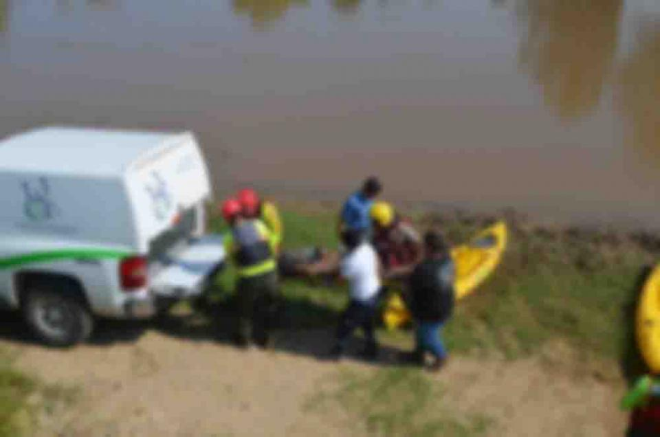 Localizan a pescador ahogado
