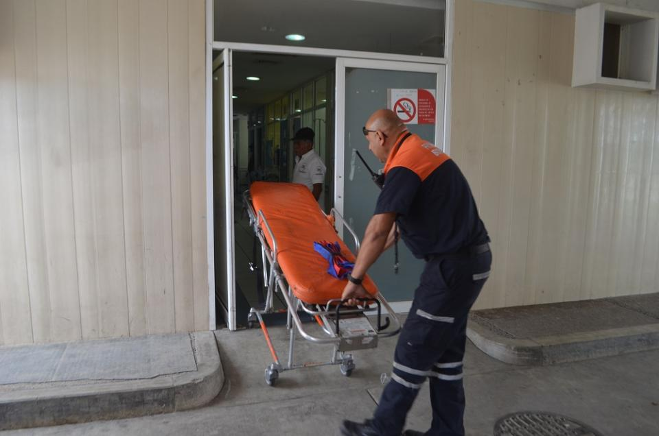 Internos del reclusorio  heridos en recicladora