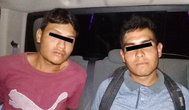 Capturan policías de Bahía  a sospechosos de robo