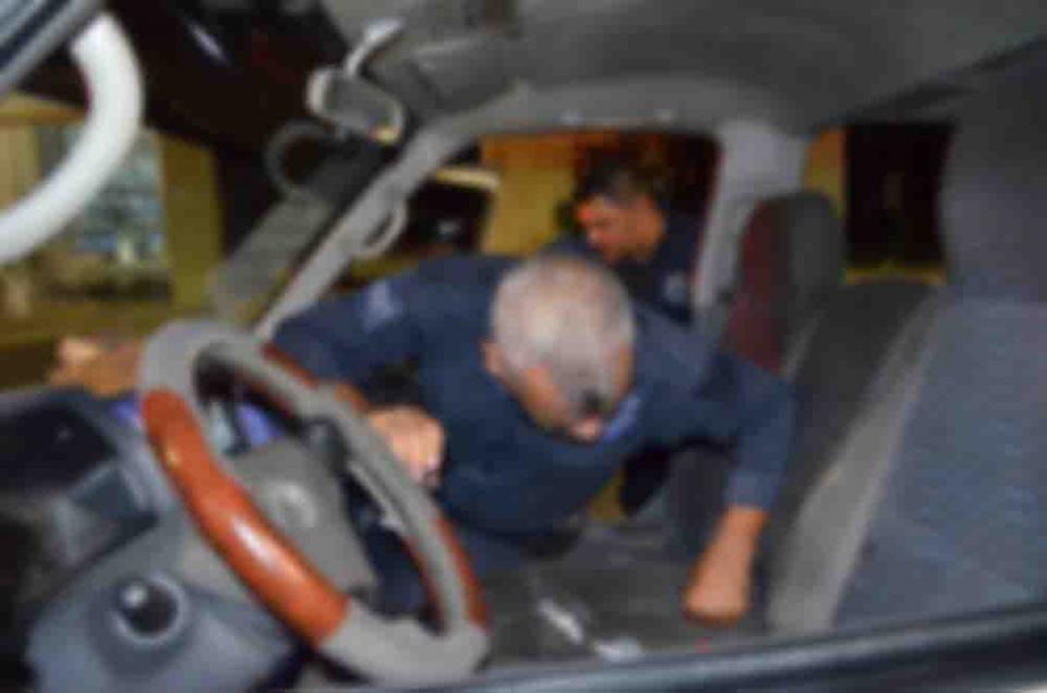 Taxista herido a balazos tras asalto