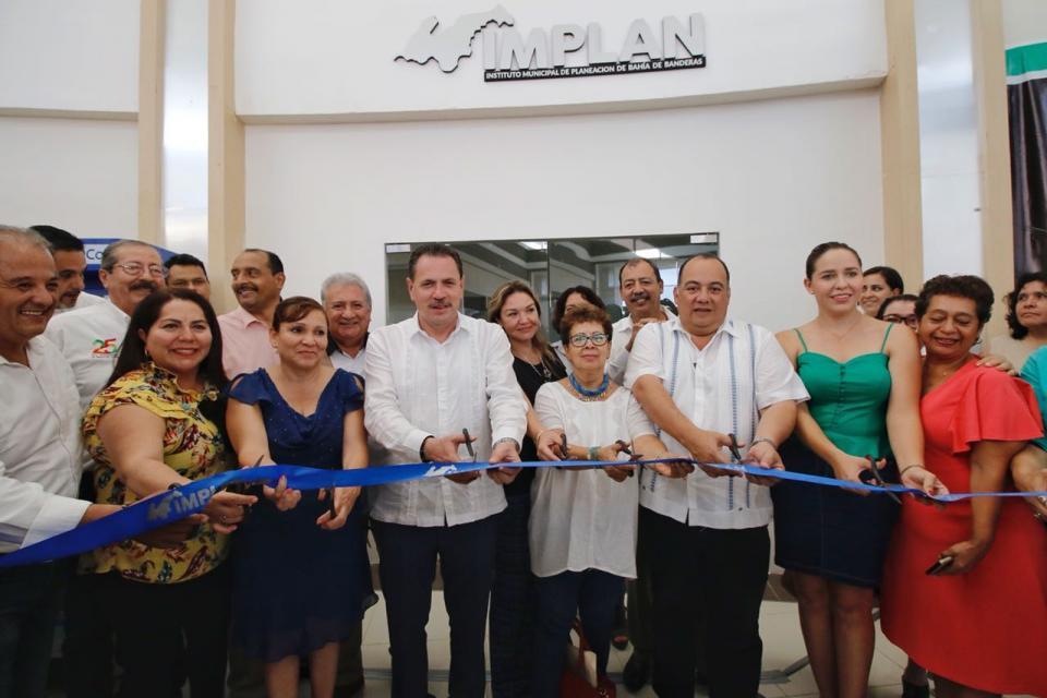 Inaugura Jaime Cuevas el Instituto Municipal de Planeación