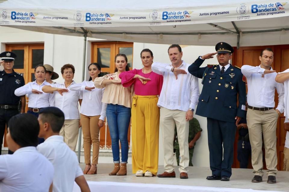 Festeja Bahía de Banderas los valores, tradición y orgullo de ser mexicanos