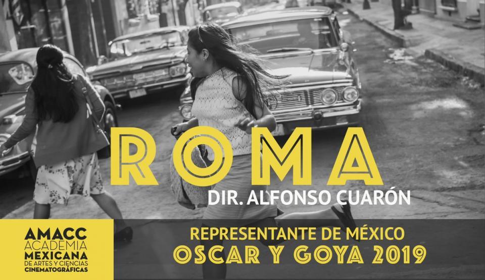 Va Roma camino de Óscar y Goya