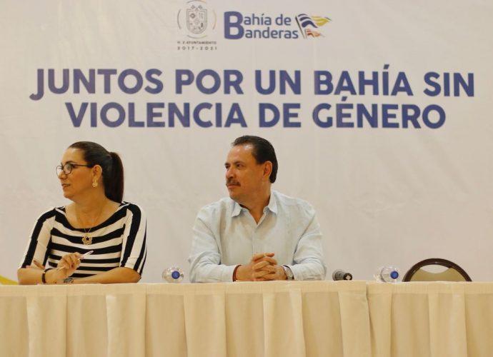 Trabaja Gobierno de Bahía en la erradicación de la alerta de género