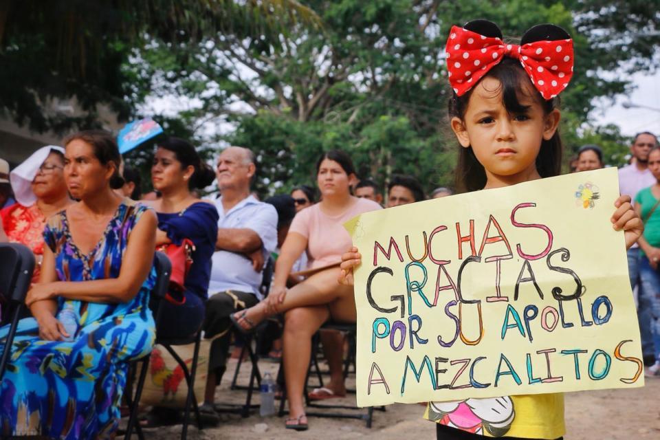 Nuevo sistema de drenaje cambió la vida de las familias de Mezcalitos