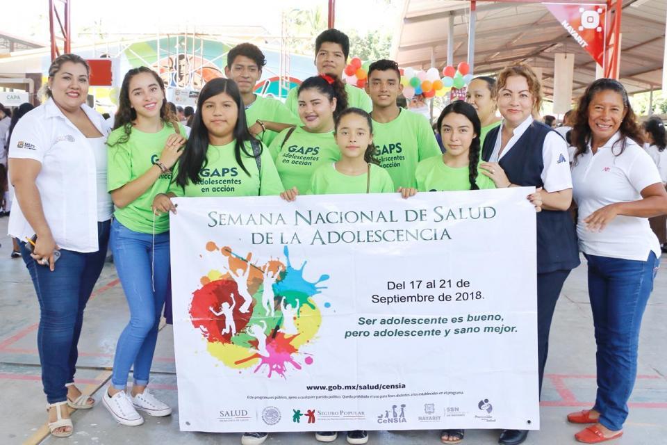 Promueven la Prevención y Salud en Adolescentes