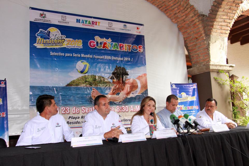 FIN DE SEMANA DE VOLEIBOL DE PLAYA…  Fiesta en Guayabitos