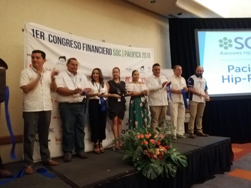 Inauguran primer Congreso  Financiero Soc Pacífica 2018