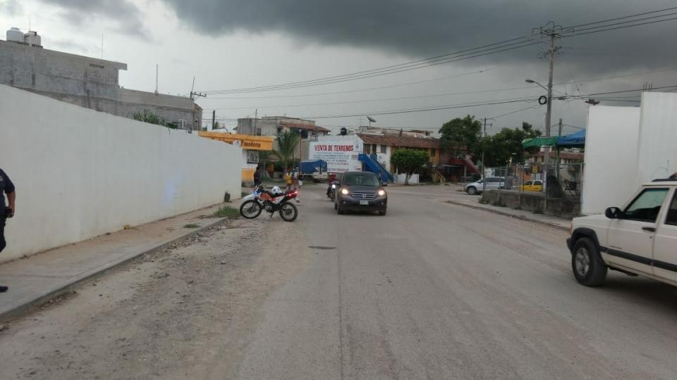Ciclista atropellado en Ixtapa