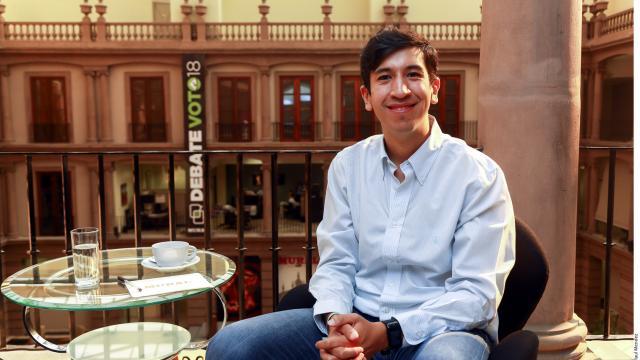 """He aprendido a ya nunca decir """"nunca"""" en la política Pedro Kumamoto Aguilar"""