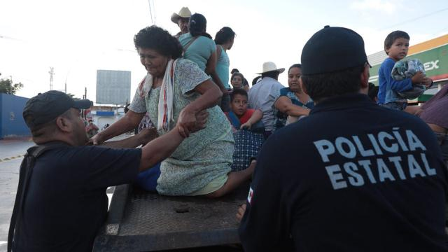 Rebasado el Malecón de Tuxpan Nayarit por río