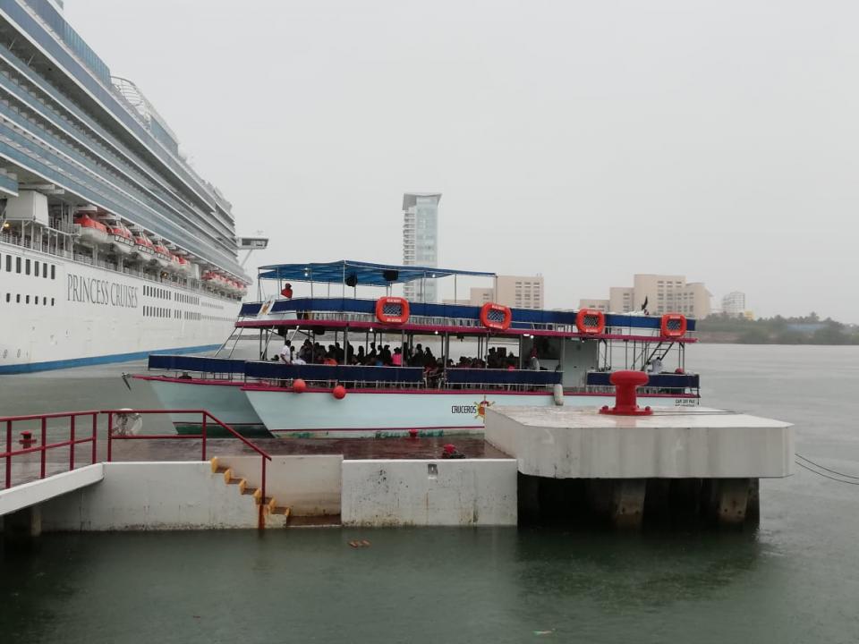 Lluvia no paró la actividad turística en Puerto Vallarta