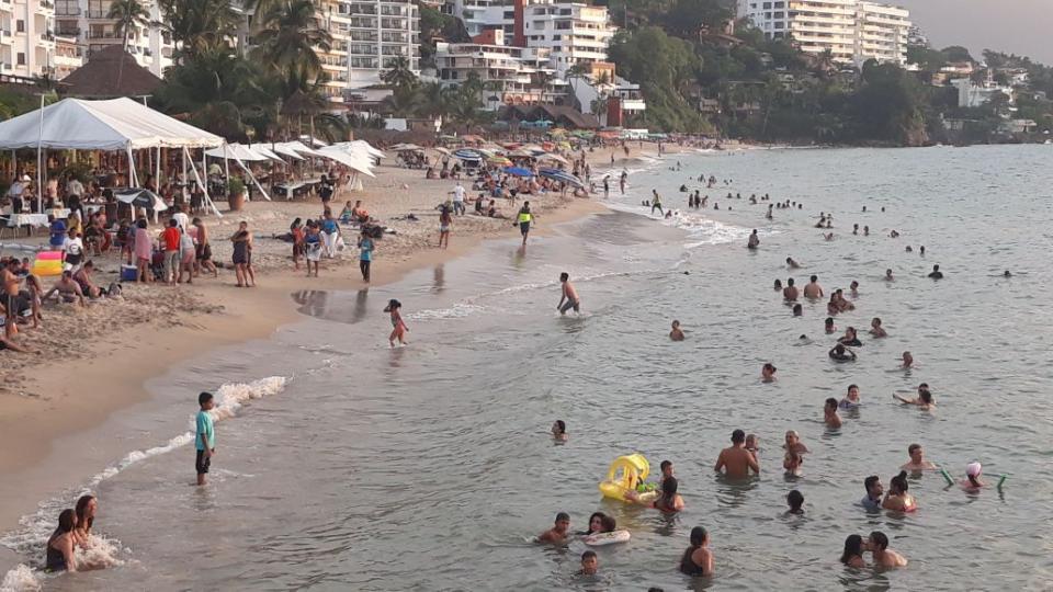 Casi llenos Puerto Vallarta y la Riviera Nayarit en  este fin de semana largo