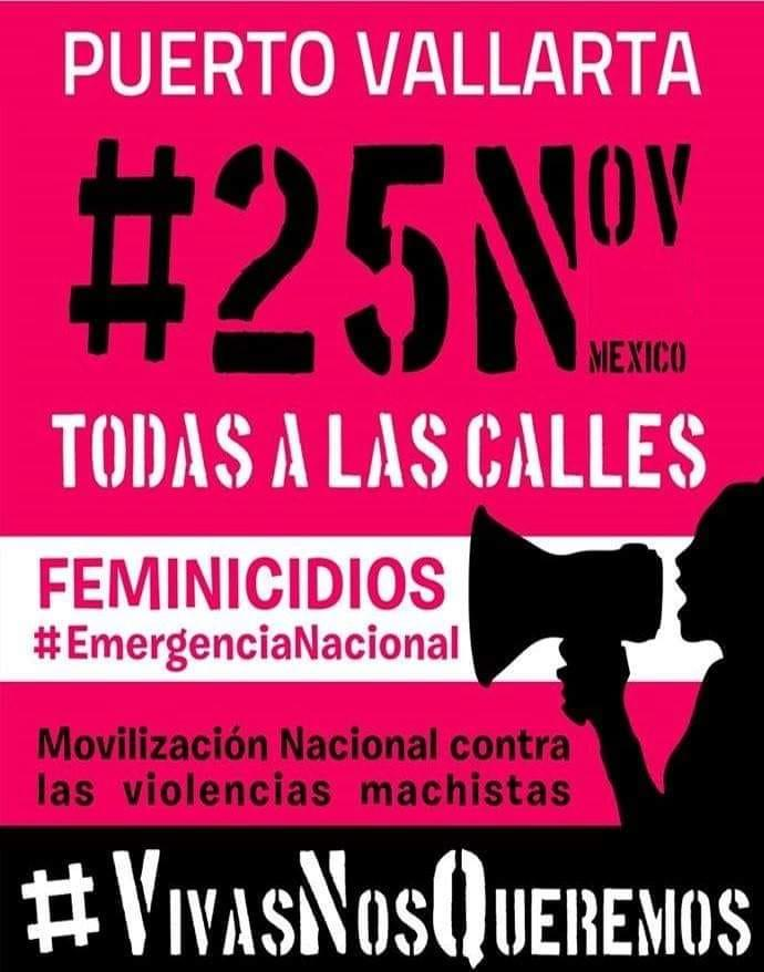 Invita Colectivo Mujeres Puerto Vallarta a marcha  silenciosa y otras actividades