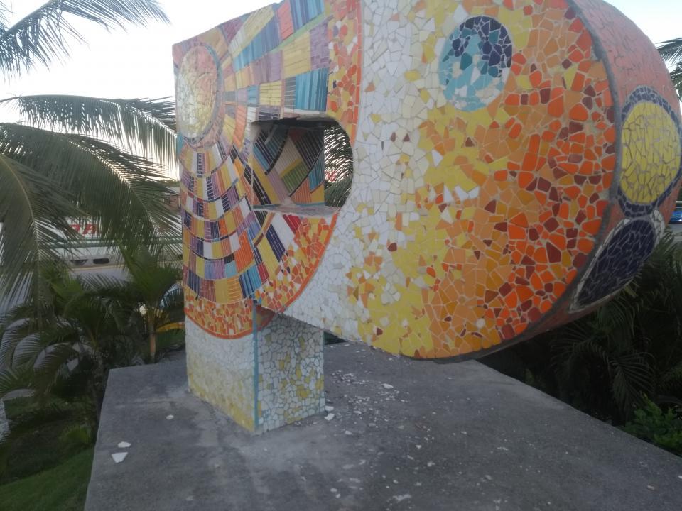 Vandalizadas las letras  de bienvenida de Puerto Vallarta