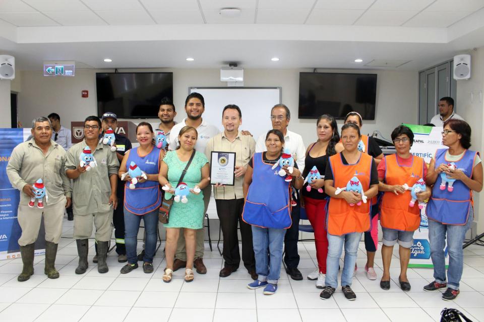 Tiene Puerto Vallarta 14 empresas Certificadas en el Cuidado del Agua
