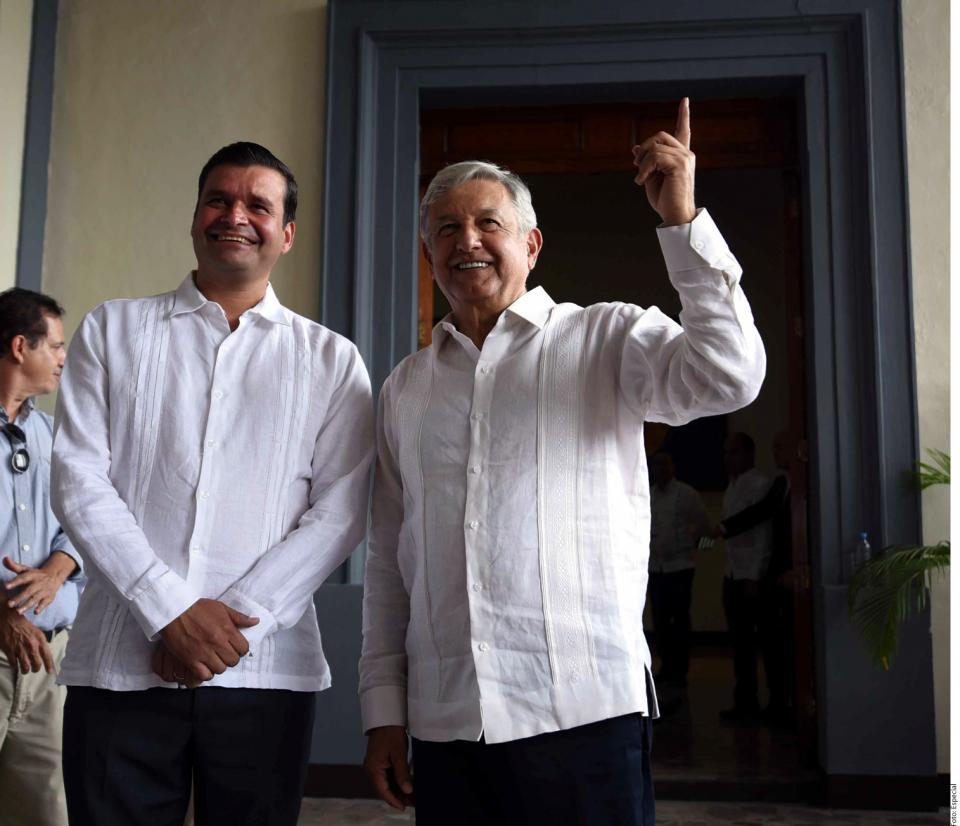 Mi jefe político es AMLO: Gobernador de Nayarit