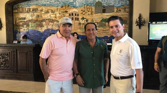 Visita el presidente Enrique Peña Nieto Villa del Palmar en las Islas de Loreto