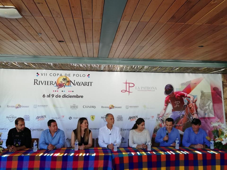 Presentan la VII edición de la copa de polo Riviera Nayarit