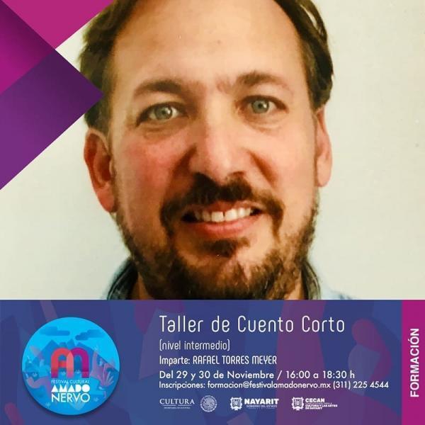 Impartirán taller de cuento en el Festival Amado Nervo