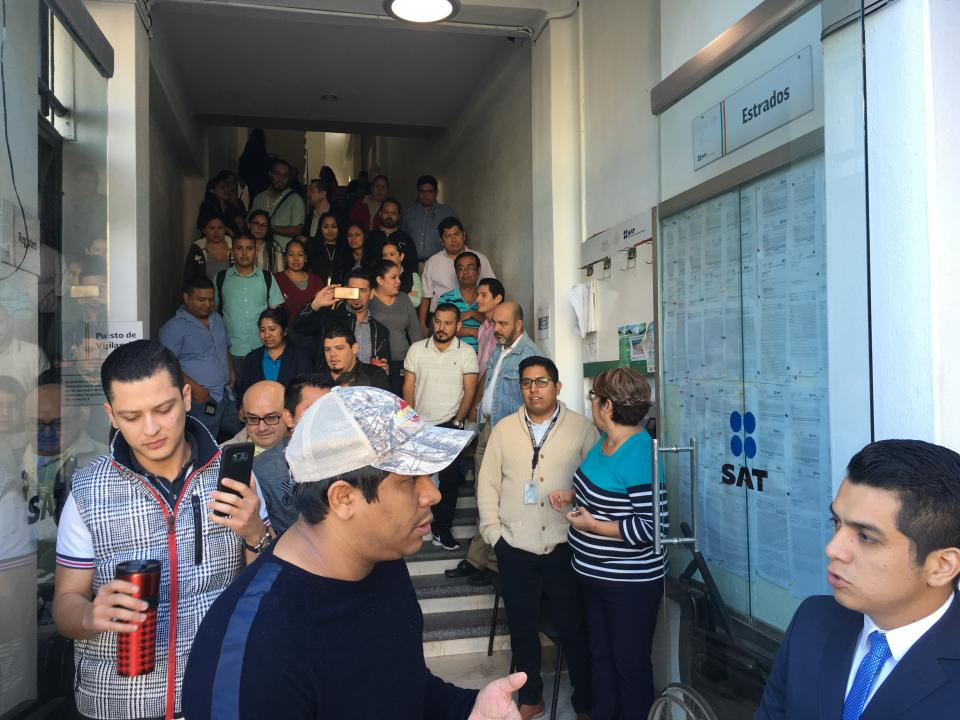 Despiden a 63 trabajadores del SAT en Puerto Vallarta