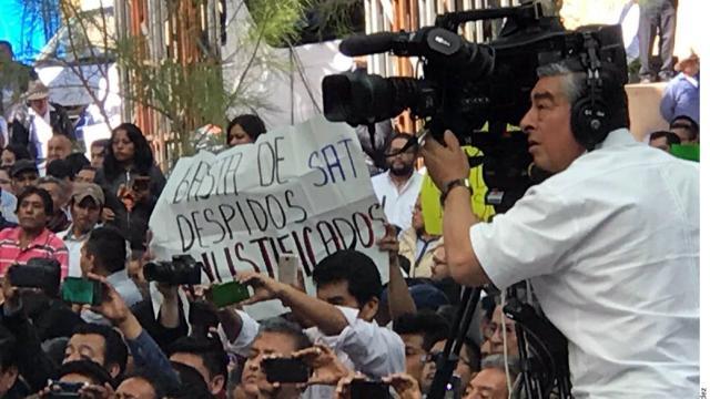 Alcanzan a Jalisco despidos del SAT
