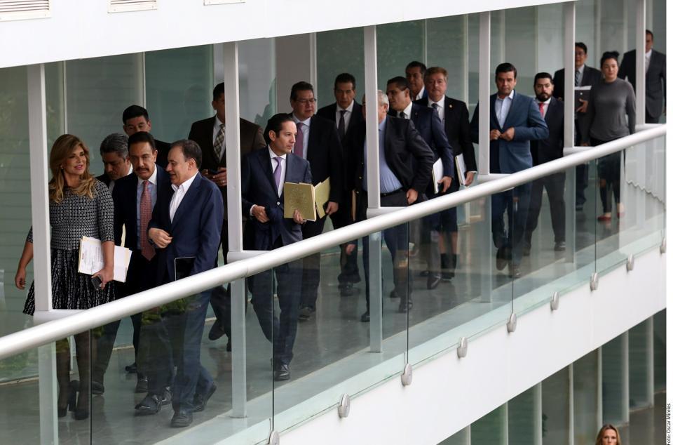 Solicitan Gobernadores reunión con Urzúa
