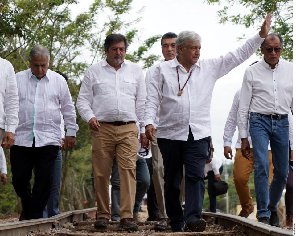 Tren respetará ecosistema, asegura Rutilio Escandón