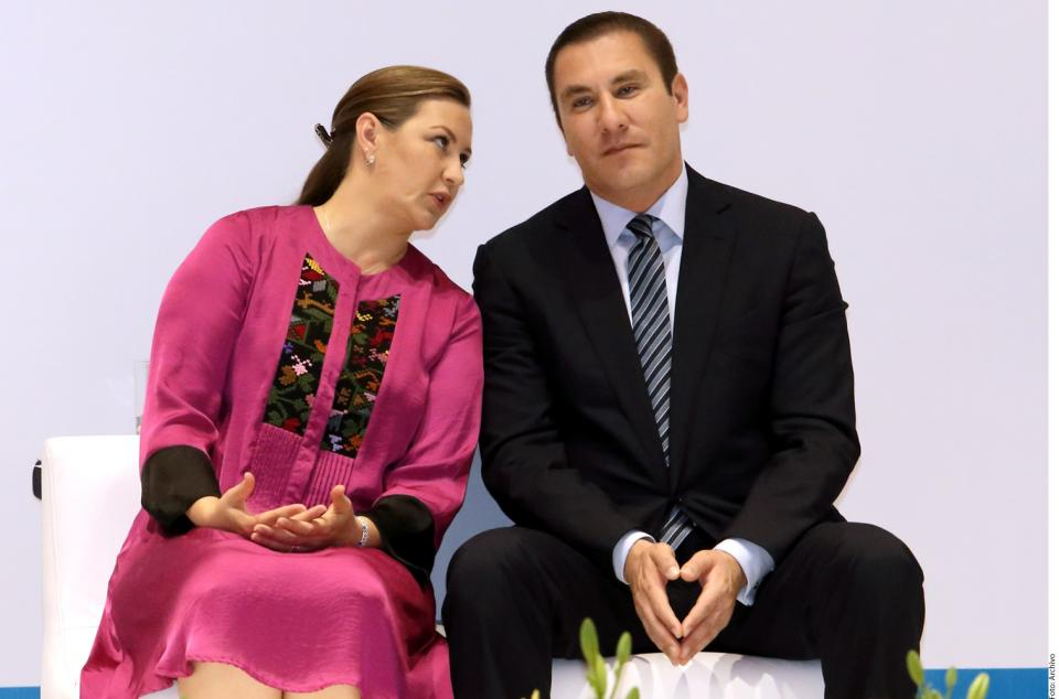 El matrimonio que  mandó en Puebla