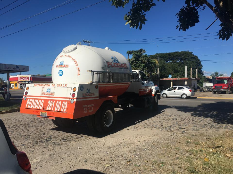 Escasez de gas en Vallarta