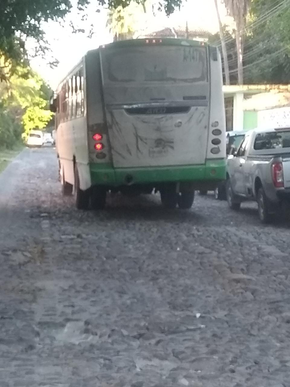 Pésimo estado de la calle Las Torres, daña vehículos