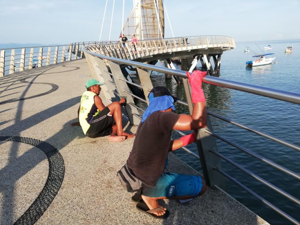 Esperan proyecto de rehabilitación  del Muelle de Los Muertos