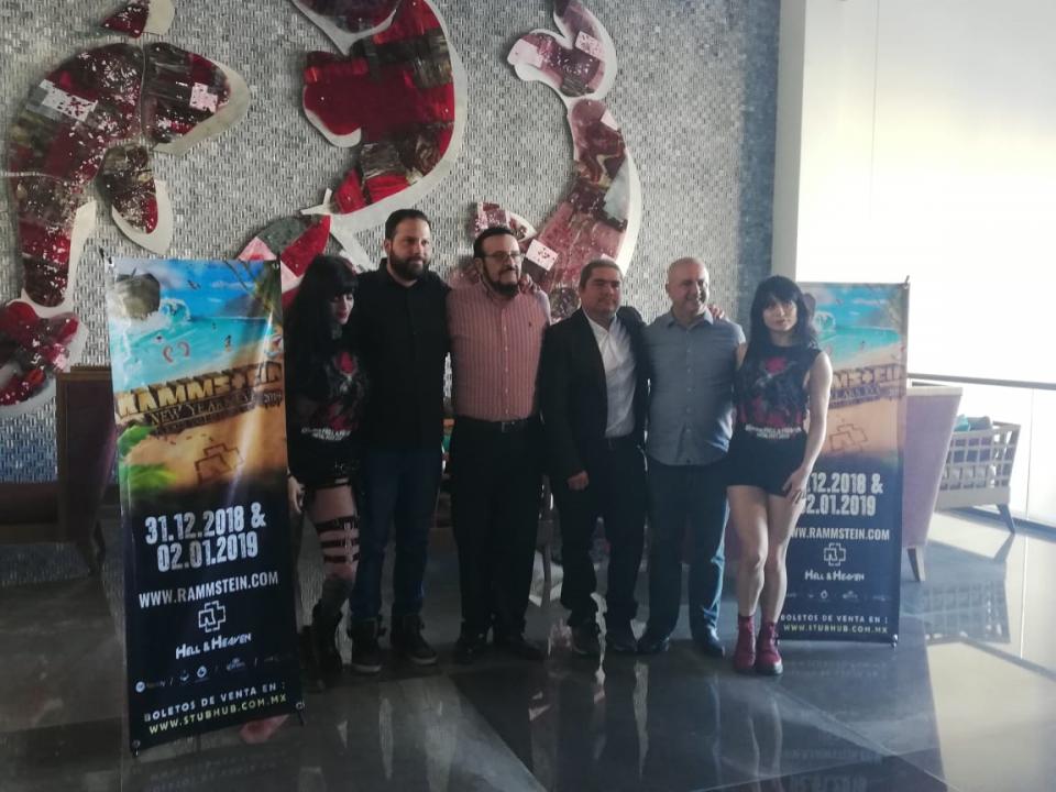 Dan detalles de los conciertos de Rammstein, en Puerto Vallarta