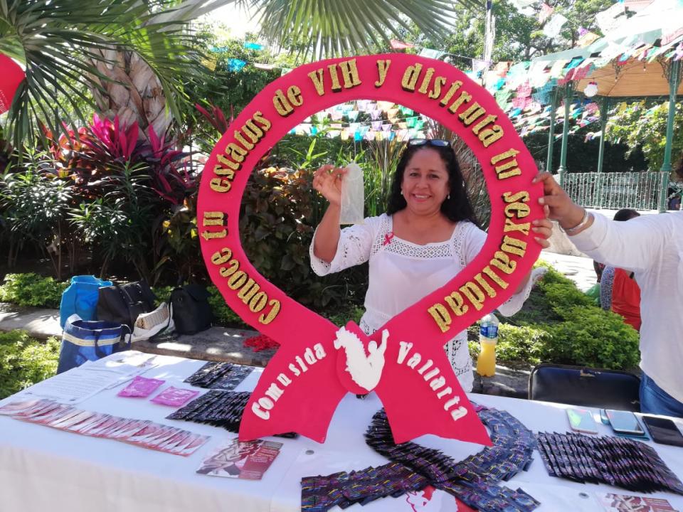 Concientizan a vallartenses sobre la  importancia de la prevención del VIH