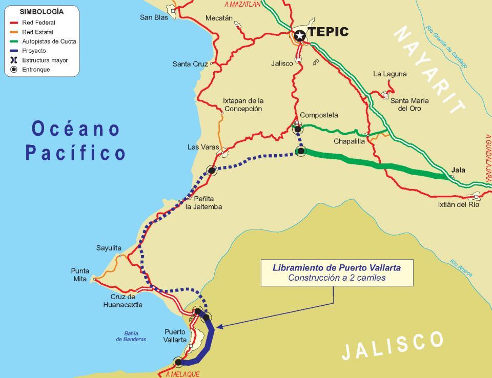 Adiós al Macrolibramiento  de Vallarta para el 2019