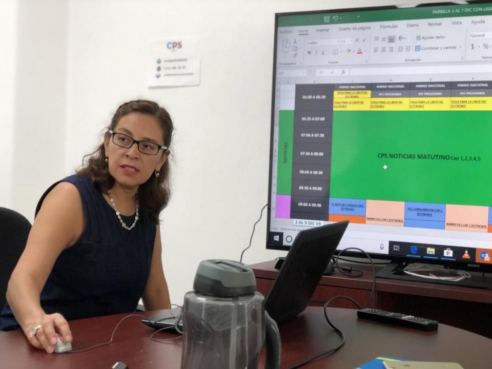 TV MAR, el barco que navega con una  capitana preparada; Elizabeth Hernández