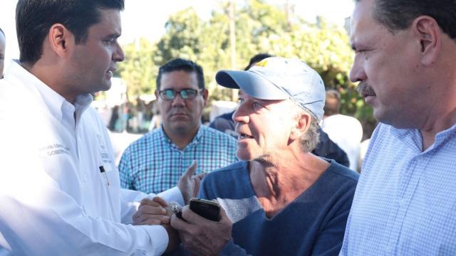 Supervisan, alcalde y gobernador, corredor  turístico costero Compostela- Bahía