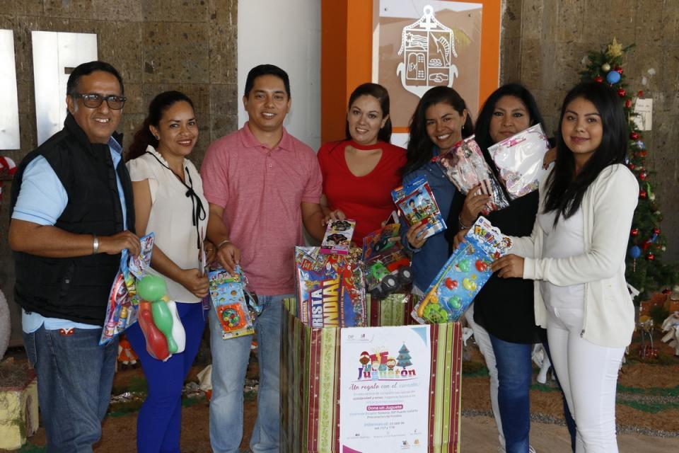 Continúa DIF Vallarta con la  colecta del 'Juguetón 2019'