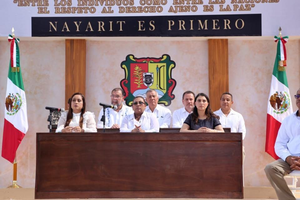Realiza Congreso del Estado sesión solemne en Valle de Banderas