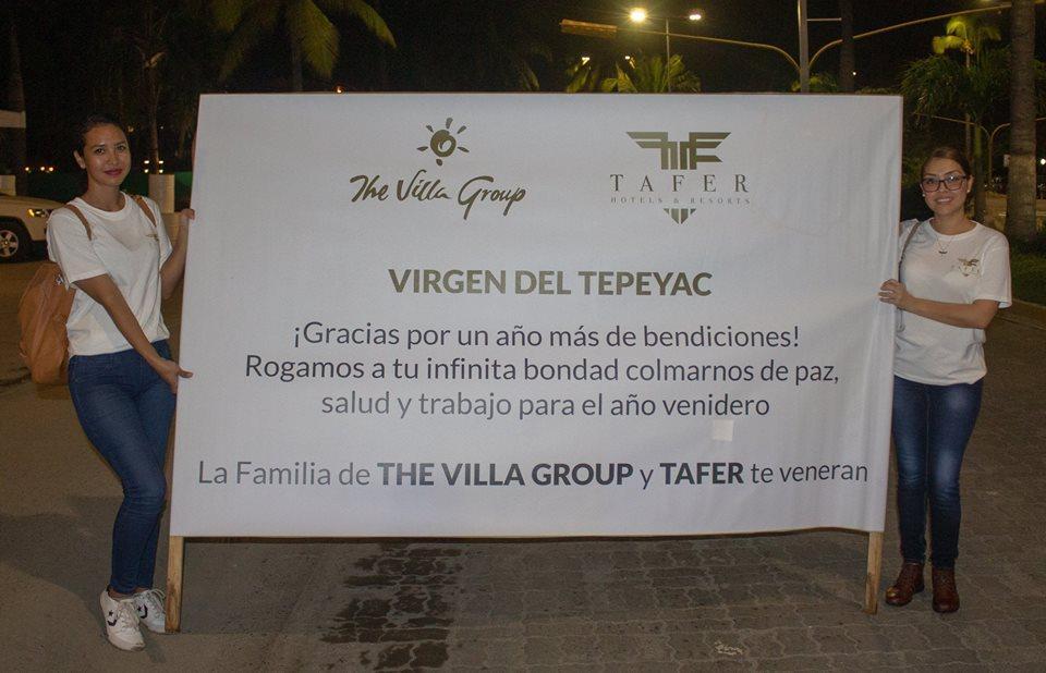Colorida, vistosa y numerosa  la peregrinación de Villa Group