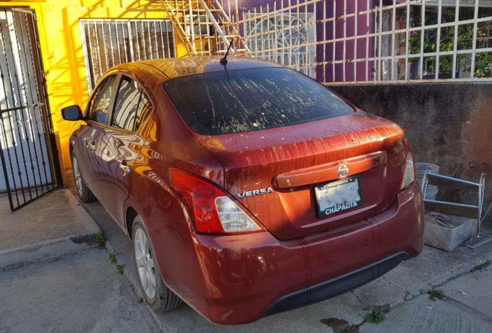 Recuperan auto robado en la colonia Campo Verde