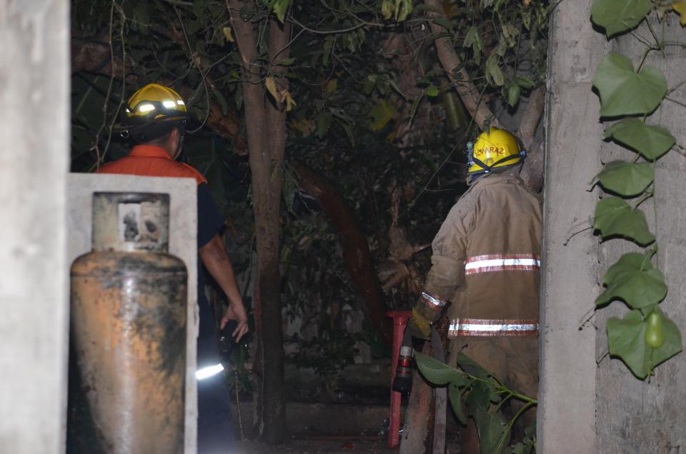 Se incendio domicilio en Las Juntas
